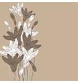 Cornflowers background nude vector