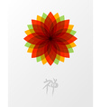 Zen lotus flower concept vector