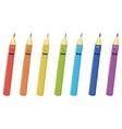 Pencils smilies vector