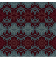 Ottoman motifs abstract background vector