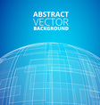 Blue planet icon vector