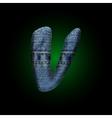 Jeans letter vector