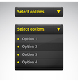 Select box choose options vector