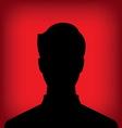 Male profile picture vector