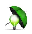 Creative new idea protection concept vector