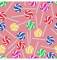 Colorful sweet lollipops seamless pattern eps10 vector