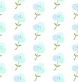 Cotton flower patterncotton plant floral seamless vector