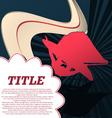Sport template poster windsurfing vector