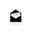 Letter icon for mail vector