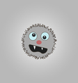 Funny cartoon monster vector
