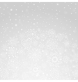 Winter abstract background of the snowflake vector