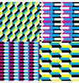 Seamless arrow patterns vector