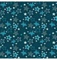 Sketchy stars seamless repeat pattern vector