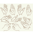 Hand drawing sketch vector