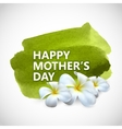 Happy mothers day label vector