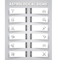 Astrological template vector