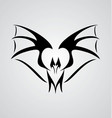 Tribal bat vector