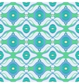 Arabic pattern in blue and green vector