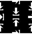 Arrow icon seamless pattern vector