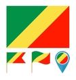 Congocountry flag vector