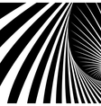 Abstract movement illusion vector
