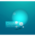 Bubble background vector