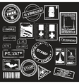 Office stamps vector