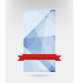 Abstract blue card design eps10 vector