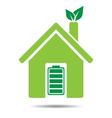 Eco friendly house vector