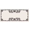 Antique ornate frame scalable and editable vector