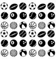 Seamless ball pattern vector