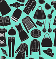 Fashion spring seamless background vector