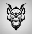 Tribal demon vector