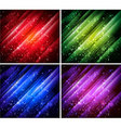 Abstract colorful backgrounds vector
