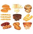 Bakery set vector