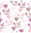 Floral seamless pattern with rose in pastel tones vector