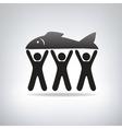 Fisherman label vector