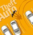 Theft auto vector