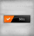 Sell button vector