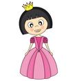 Princess costume vector