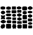 Set of different labels vector