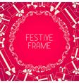 Pink festive background vector
