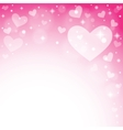 Abstract background to the valentine s day vector