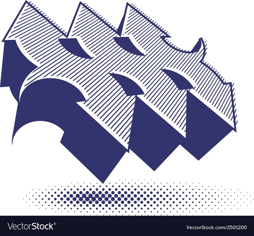 Abstract arrows symbol graphic design template v vector | Price: 1 Credit (USD $1)