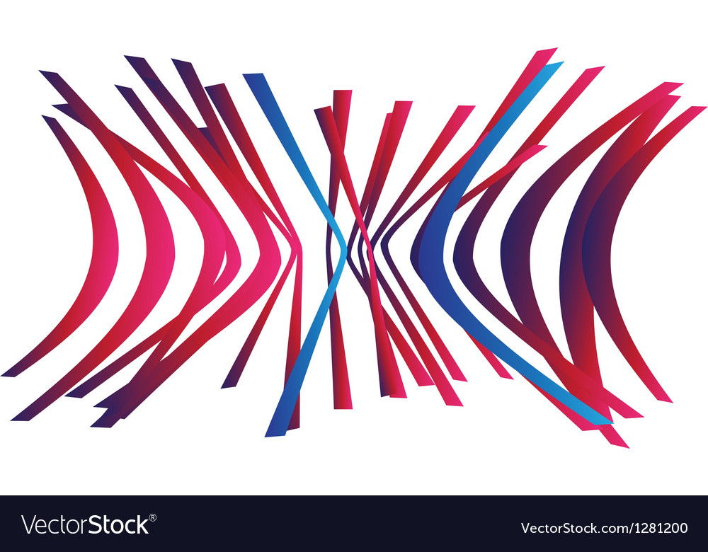 Abstract creative sign vector