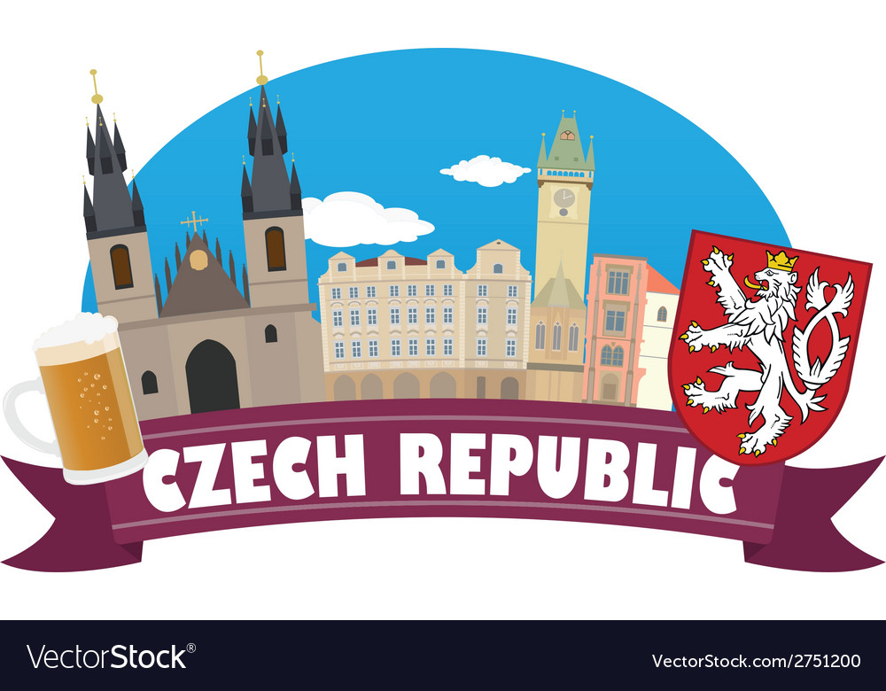 Czech vector   Price: 1 Credit (USD $1)