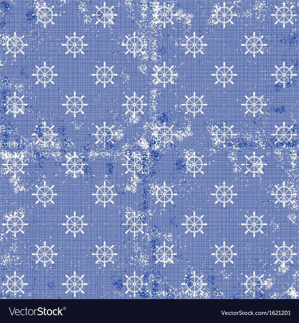 Blue nautical pattern vector | Price: 1 Credit (USD $1)