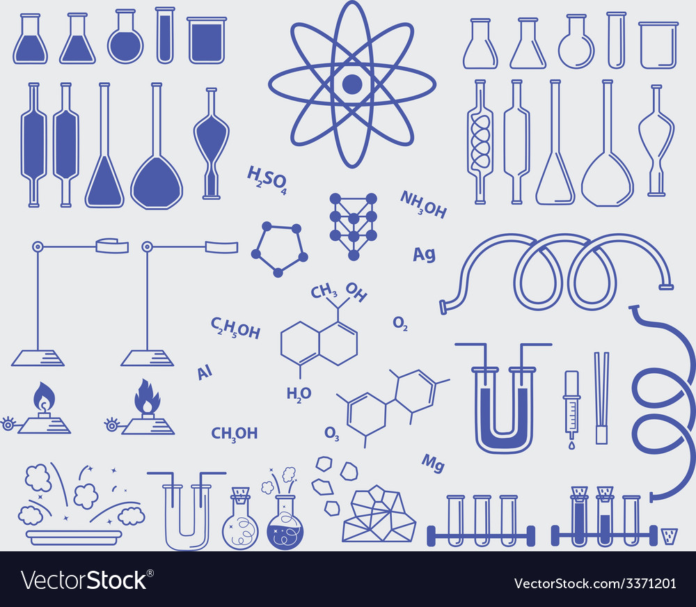 Chemistry subjects vector | Price: 1 Credit (USD $1)