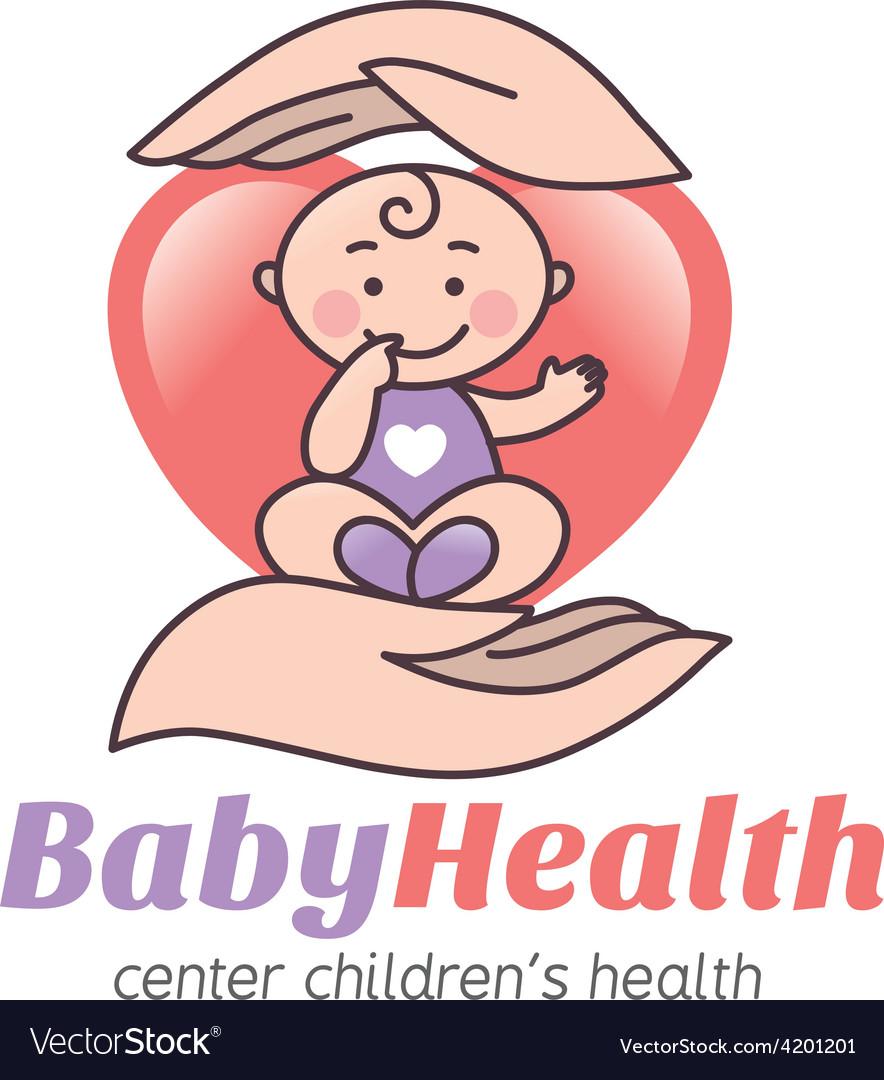 Logo baby health vector   Price: 1 Credit (USD $1)
