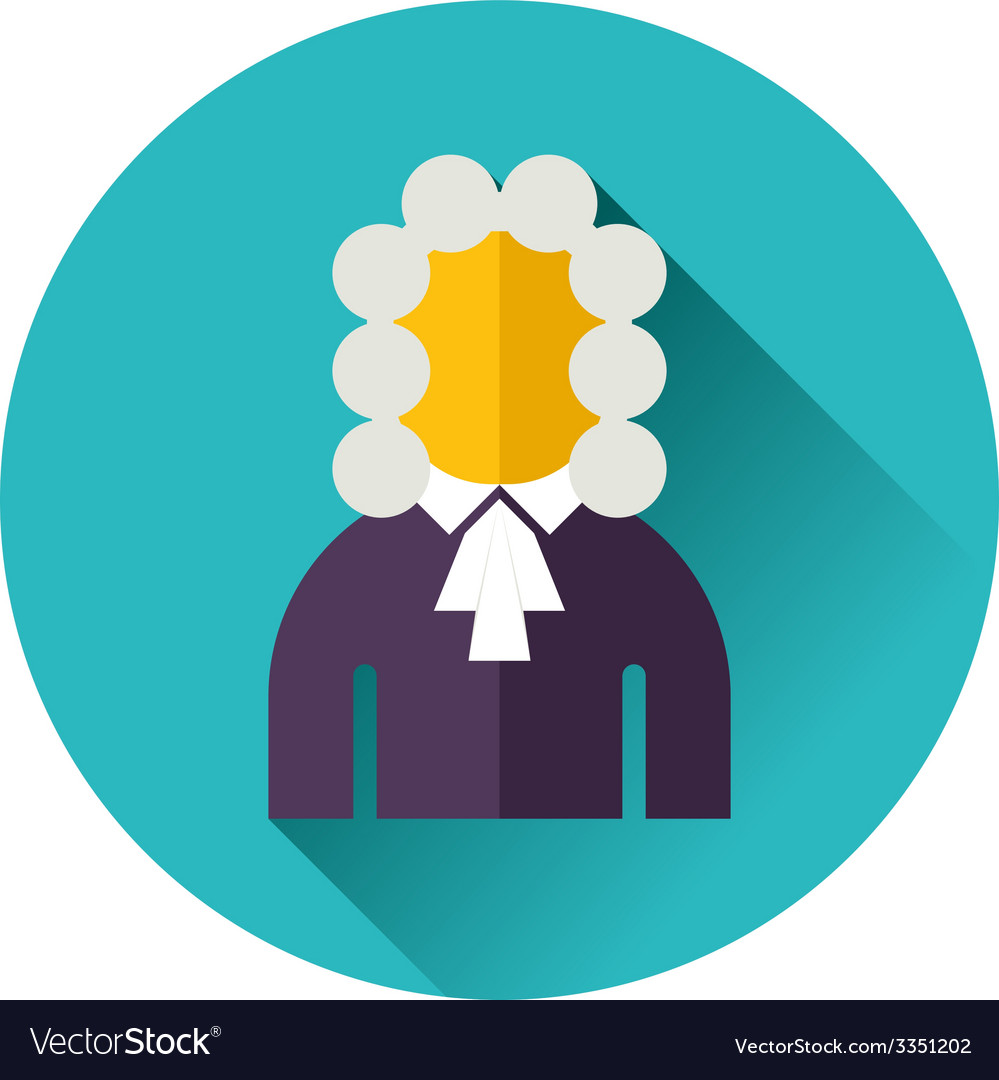 Judge icon vector | Price: 1 Credit (USD $1)